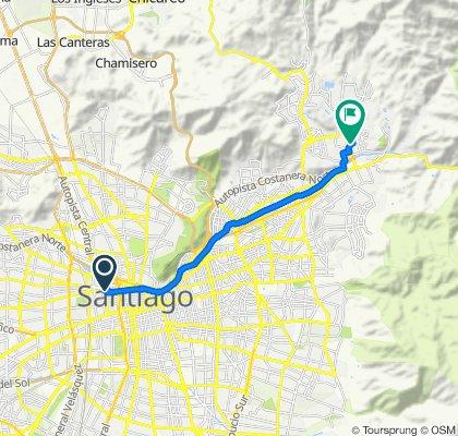 De Ricardo Cumming 791, Santiago a Portal la Dehesa, Lo Barnechea