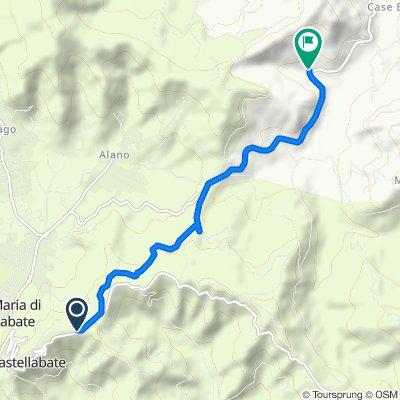Contrada Terrate, Castellabate nach Contrada Villa Simeoni 2/B, Laureana Cilento