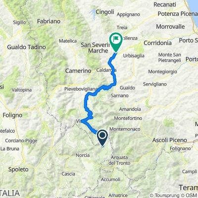 Marche Umbria Etappe 8