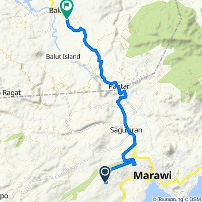 6th Street, Marawi City to Amai Pakpak Avenue, Baloi