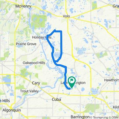 26773 W Lakeridge Dr, Lake Barrington to 26773 W Lakeridge Dr, Lake Barrington