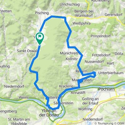 Runde über Pargatstetten, Unterthalheim, Marbach, Hofamt-Priel