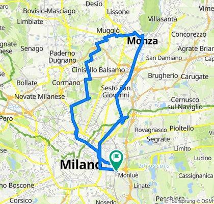 zona Forlanini (Milano) zona parco monza