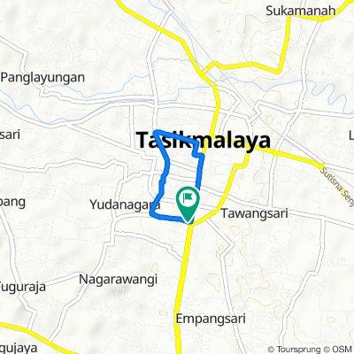 Jalan Nagarawangi 2, Kecamatan Cihideung to Jalan Nagarawangi 2, Kecamatan Cihideung