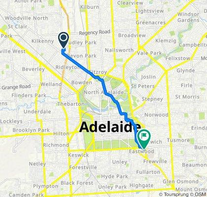 2C Auburn Crescent, Croydon Park to 226 Greenhill Road, Eastwood