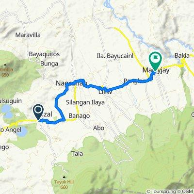 Nagcarlan - Rizal Road to Majayjay