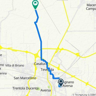 Da Via Virgilio 53, Gricignano di Aversa a Strada Provinciale 229, San Tammaro