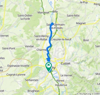 De 5 Rue Gravier, Bellerive-sur-Allier à 6bis Rue Gravier, Bellerive-sur-Allier