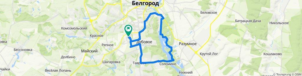 Белгород, Дубовое...Это лучшая трасса)))