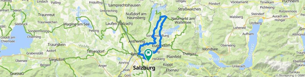Salzburg – Schleedorf – Voggenberg – Salzburg