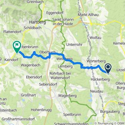 Feldgasse 17, Stinatz nach Kopfing 113, Kopfing bei Kaindorf