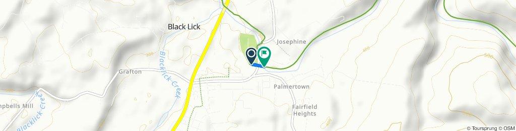 Route to 115 Palmerton Rd, Blairsville