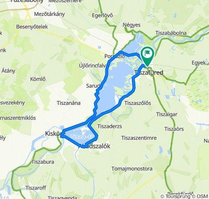 Slow ride in Tiszafüred
