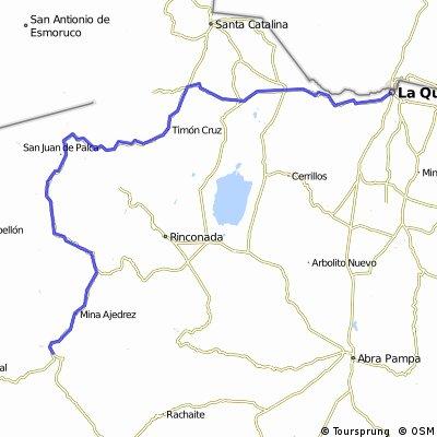etapa 1 La quiaca - 188km