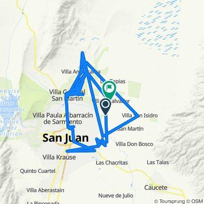 De Ruta Provincial 170 a Guillermo Rawson, Villa del Salvador