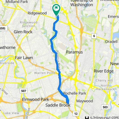 Pershing Avenue 61, Ridgewood to Wyndemere Avenue 680, Ridgewood