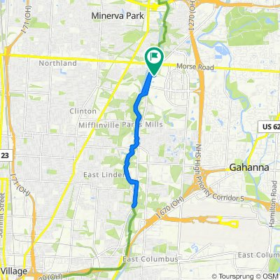 3600 Chiller Ln, Columbus to 3600 Chiller Ln, Columbus