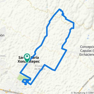 Xonacatepec pista 3