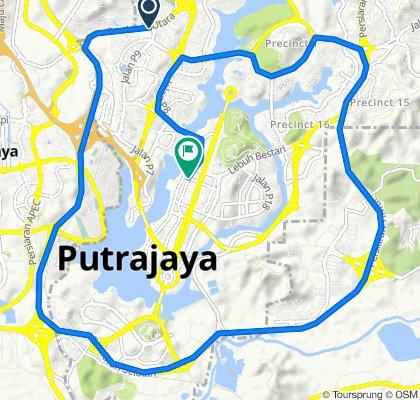 Persiaran Utara, Putrajaya to Jalan P3A, Putrajaya