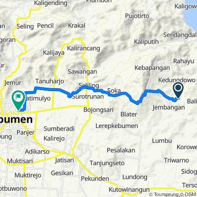 Sukadana, Poncowarno to Gang Beringin 27, Kecamatan Kebumen