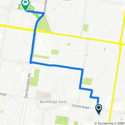 105 Victor Road, Bentleigh East to 131 Leila Road, Carnegie