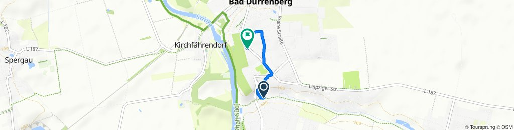 Keuschberger Straße 5, Bad Dürrenberg nach Leipziger Straße 2, Bad Dürrenberg