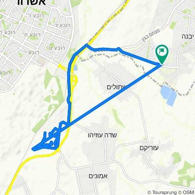 Shahaf Street 3, Gan Yavne to Shahaf Street 3, Gan Yavne