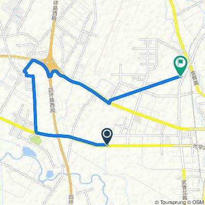 Guanghua Avenue Capital Fengshang Northwest 300 Meters, Chengdu to Xijin Yuan D Unit, Chengdu