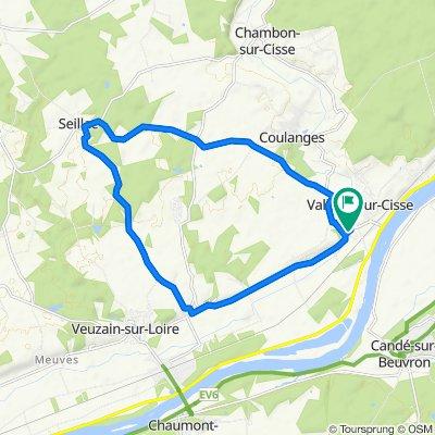 Supersonic route in Chouzy-sur-Cisse