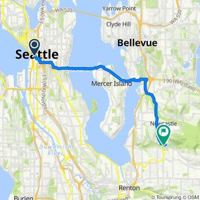 Seattle Bike route