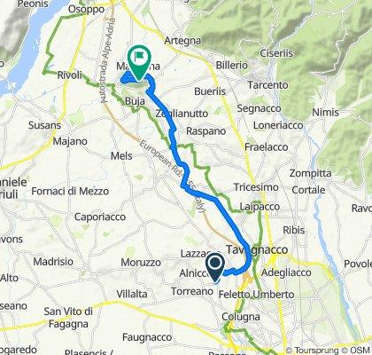 Da Via Braida di Ros 30–42, Borgo Marano a Strade dal Ciscjelàt, Buia