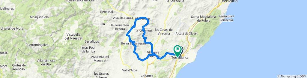 Torreblanca - Serratella - Bandereta - Torreblanca