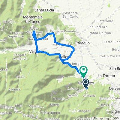 Da Via San Giacomo 22, Bernezzo a Via Umberto I 2–28, Bernezzo