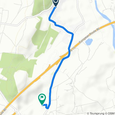 Itinéraire à partir de 899 Chemin de Montpellier, Villetelle