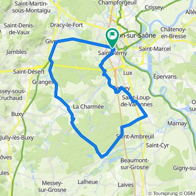 Section jeunes Vélo Sport Chalonnais - 17 octobre 2020