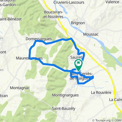 De 17 Avenue des Jonquières, Saint-Geniès-de-Malgoirès à 17 Avenue des Jonquières, Saint-Geniès-de-Malgoirès