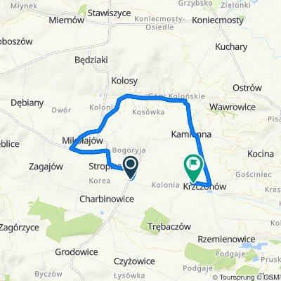 Charbinowice 2–4, Czarnocin do Krzczonów 47, Krzczonów
