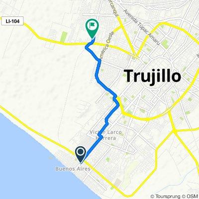 De O'Higgins 110, Distrito de Víctor Larco Herrera a Perú, Trujillo