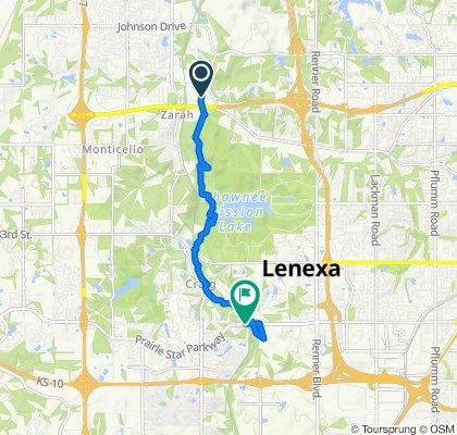 Stevenson Street 6338, Shawnee to Prairie Star Parkway, Lenexa