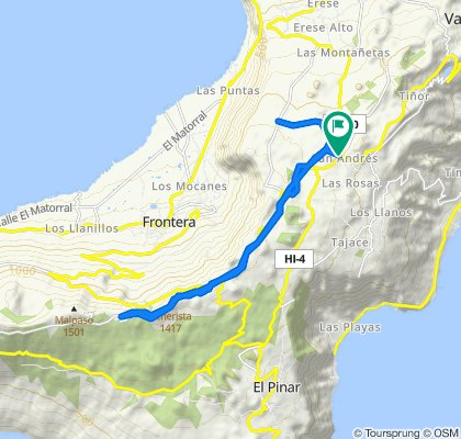 De Carretera de S Andrés, 4, Valverde a Carretera de S Andrés, 2, Valverde