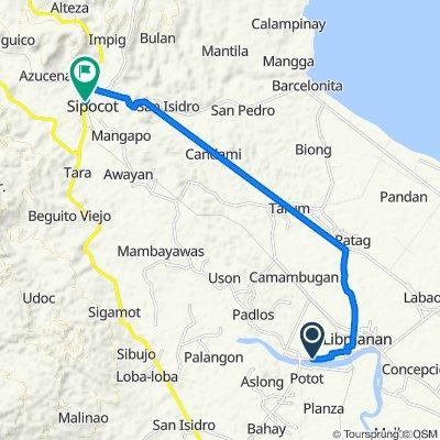 Libmanan to Pan-Philippine Highway, Sipocot