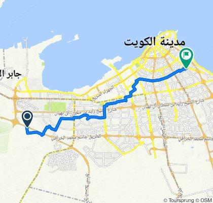 Jassim Mohammed Al Kharafi Road, Al Kuwayt to Street 113, Al Kuwayt