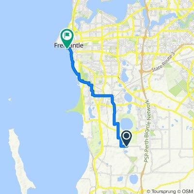 335–343 Wattleup Road, Wattleup to 40 Mews Road, Fremantle