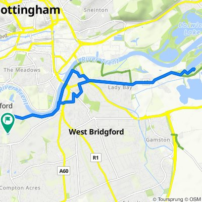The Becket School, The Becket Way, Nottingham to The Becket School, The Becket Way, Nottingham