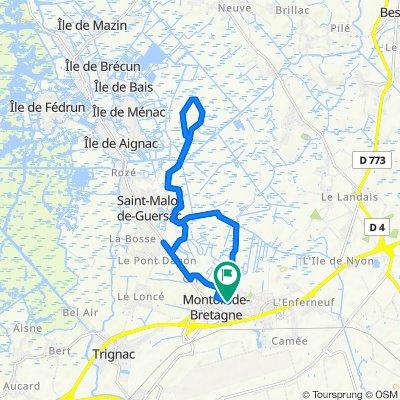 De 17 Avenue de l'Île-de-France, Montoir-de-Bretagne à 13 Avenue de l'Île-de-France, Montoir-de-Bretagne