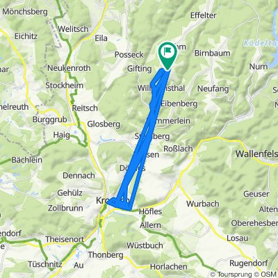 Leitenbergweg 8, Wilhelmsthal nach Leitenbergweg 8, Wilhelmsthal