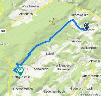 Im Dorf 8, Hettenrodt nach Hauptstraße 27, Hattgenstein
