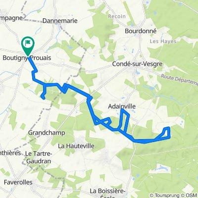De 4 Rue du Vieux Château, Boutigny-Prouais à 4 Rue du Vieux Château, Boutigny-Prouais