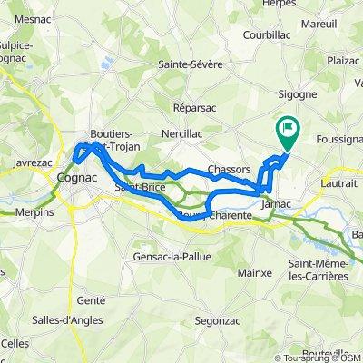De 5 Route de Sigogne, Les Métairies à 5 Route de Sigogne, Les Métairies