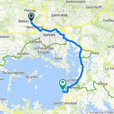 De Beauvoir, Plescop do Route de Tascon 121, Saint-Armel